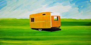 (In)side, 70x116 cm, smalti su tela, 2011
